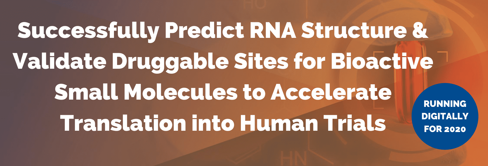 Successfully Predict RNA Structure & Validate Druggable Sites for Bioactive Small Molecules to Accelerate Translation into Human Trials